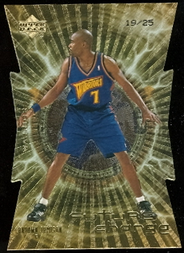 1999-00 Upper Deck Future Charge Level 2 #FC1 Antawn Jamison
