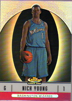 2006-07 Finest Refractors #116 Nick Young