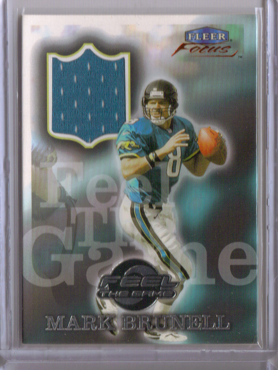 1999 Fleer Focus Feel the Game #2FG Mark Brunell front image