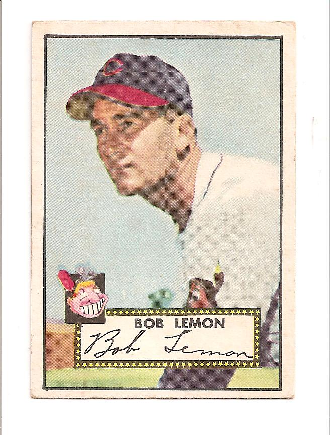 1952 Topps #268 Bob Lemon