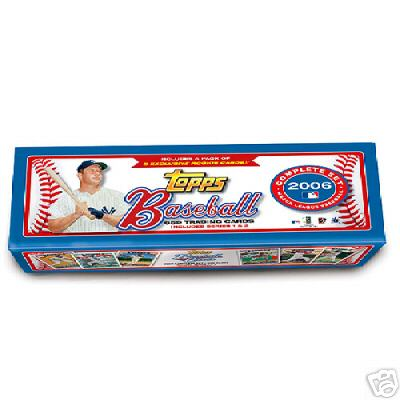 2006 TOPPS BASEBALL COMPLETE FACTORY SET W/ 5 EXCLUSIVE ROOKIES - SEALED