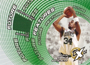 2002-03 Topps Xpectations Future Features Relics #FFPP Paul Pierce C