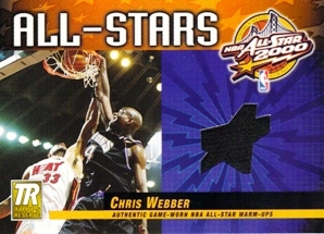 2000-01 Topps Reserve Game Jerseys #TAS21 Chris Webber A