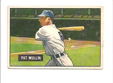 1951 Bowman #106 Pat Mullin