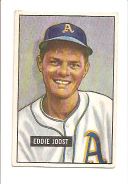 1951 Bowman #119 Eddie Joost