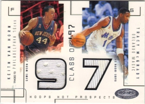 2002-03 Hoops Hot Prospects Class Of Jerseys #2 Keith Van Horn/Tracy McGrady