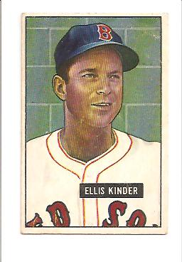 1951 Bowman #128 Ellis Kinder