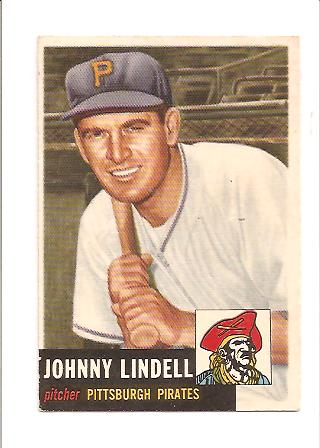 1953 Topps #230 Johnny Lindell DP