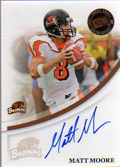 2007 Press Pass Autographs Bronze #41 Matt Moore