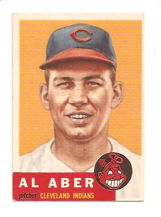 1953 Topps #233 Al Aber RC
