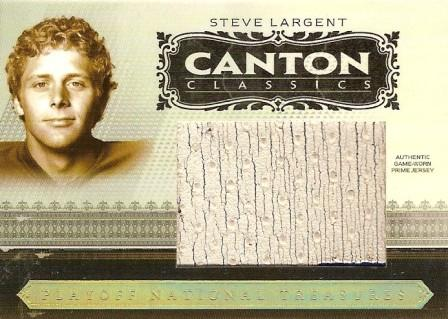 2006 Playoff National Treasures Canton Classics Materials Jumbo Jerseys Prime #58 Steve Largent