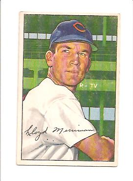 1952 Bowman #78 Lloyd Merriman