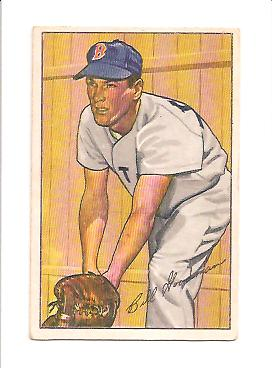 1952 Bowman #81 Billy Goodman
