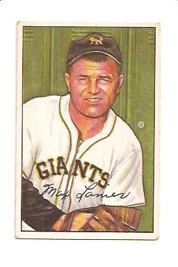 1952 Bowman #110 Max Lanier