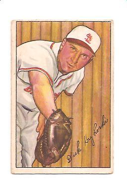1952 Bowman #133 Dick Kryhoski