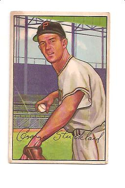 1952 Bowman #207 George Strickland RC
