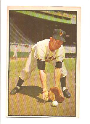 1953 Bowman Color #1 Davey Williams