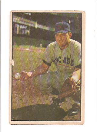 1953 Bowman Color #7 Harry Chiti RC