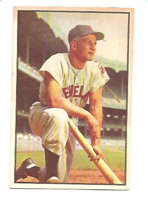 1953 Bowman Color #8 Al Rosen
