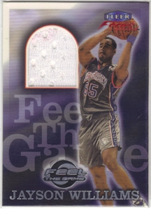 1999-00 Fleer Focus Feel the Game #6 Jayson Williams