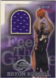 1999-00 Fleer Focus Feel the Game #7 Bryon Russell