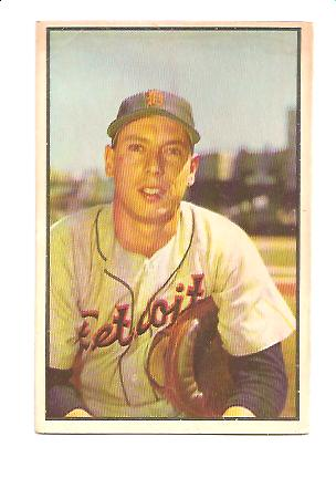 1953 Bowman Color #6 Joe Ginsberg
