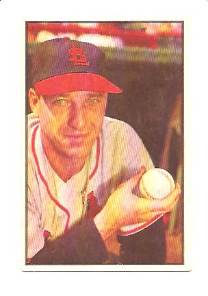 1953 Bowman Color #17 Gerry Staley