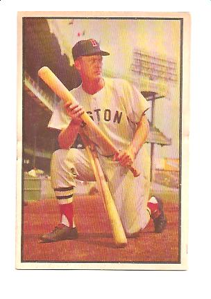 1953 Bowman Color #25 Hoot Evers