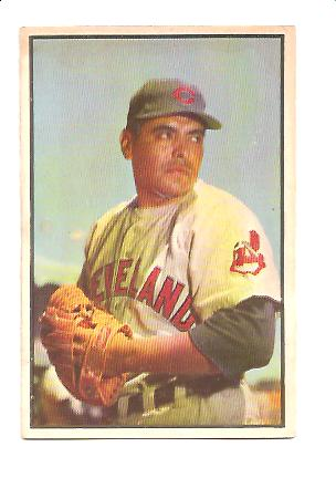 1953 Bowman Color #43 Mike Garcia