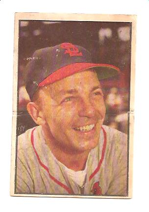 1953 Bowman Color #49 Eddie Stanky MG