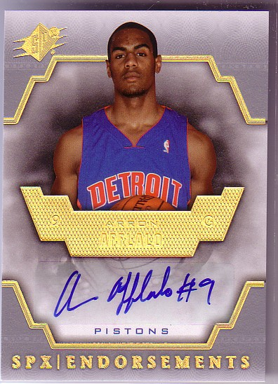 2007-08 SPx Endorsements #AA Arron Afflalo