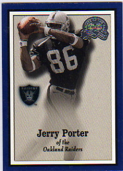 2000 Greats of the Game #116 Jerry Porter RC