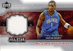2004-05 Upper Deck All-Star Lineup All-Star Staples Threads #TM Tracy McGrady