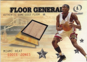 2000-01 Fleer Legacy Floor Generals #FG10 Eddie Jones
