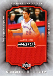2004-05 Upper Deck All-Star Lineup Weekend Highlights Threads #JA Marko Jaric