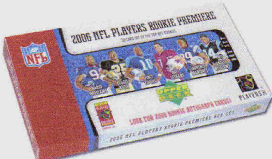 2006 Upper Deck Rookie Premiere football set