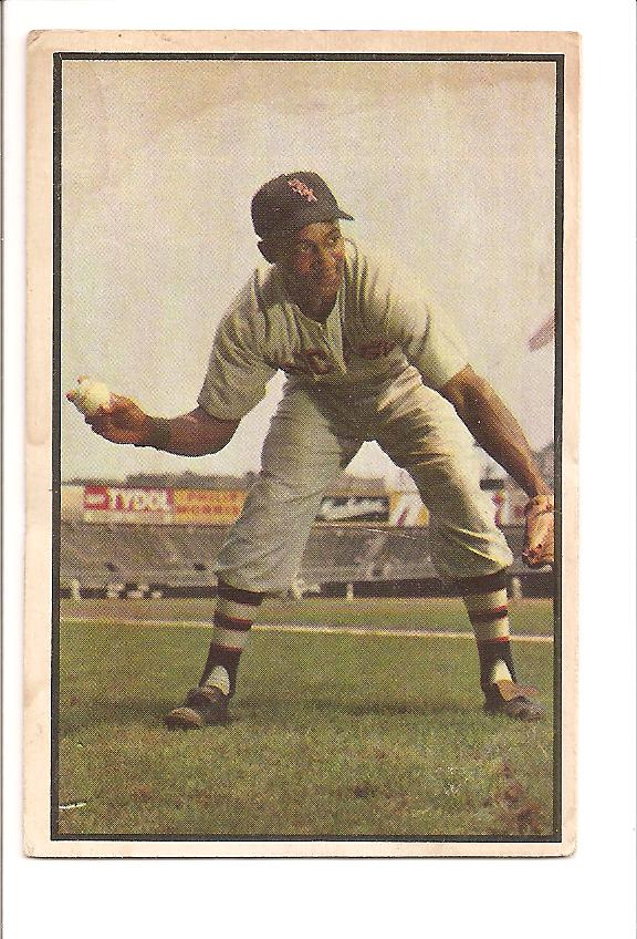 1953 Bowman Color #98 Hector Rodriguez RC