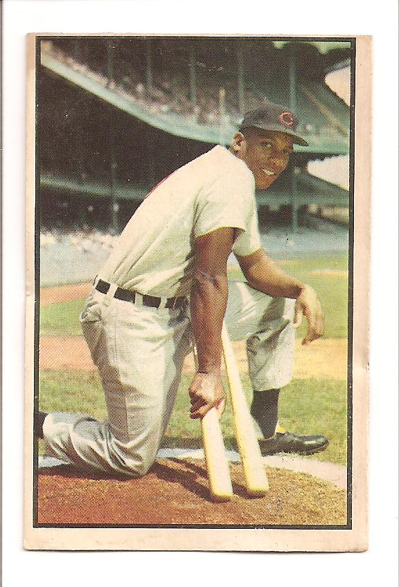 1953 Bowman Color #104 Luke Easter