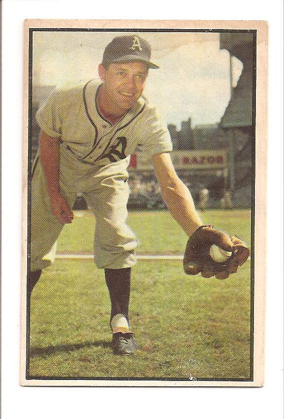 1953 Bowman Color #105 Eddie Joost
