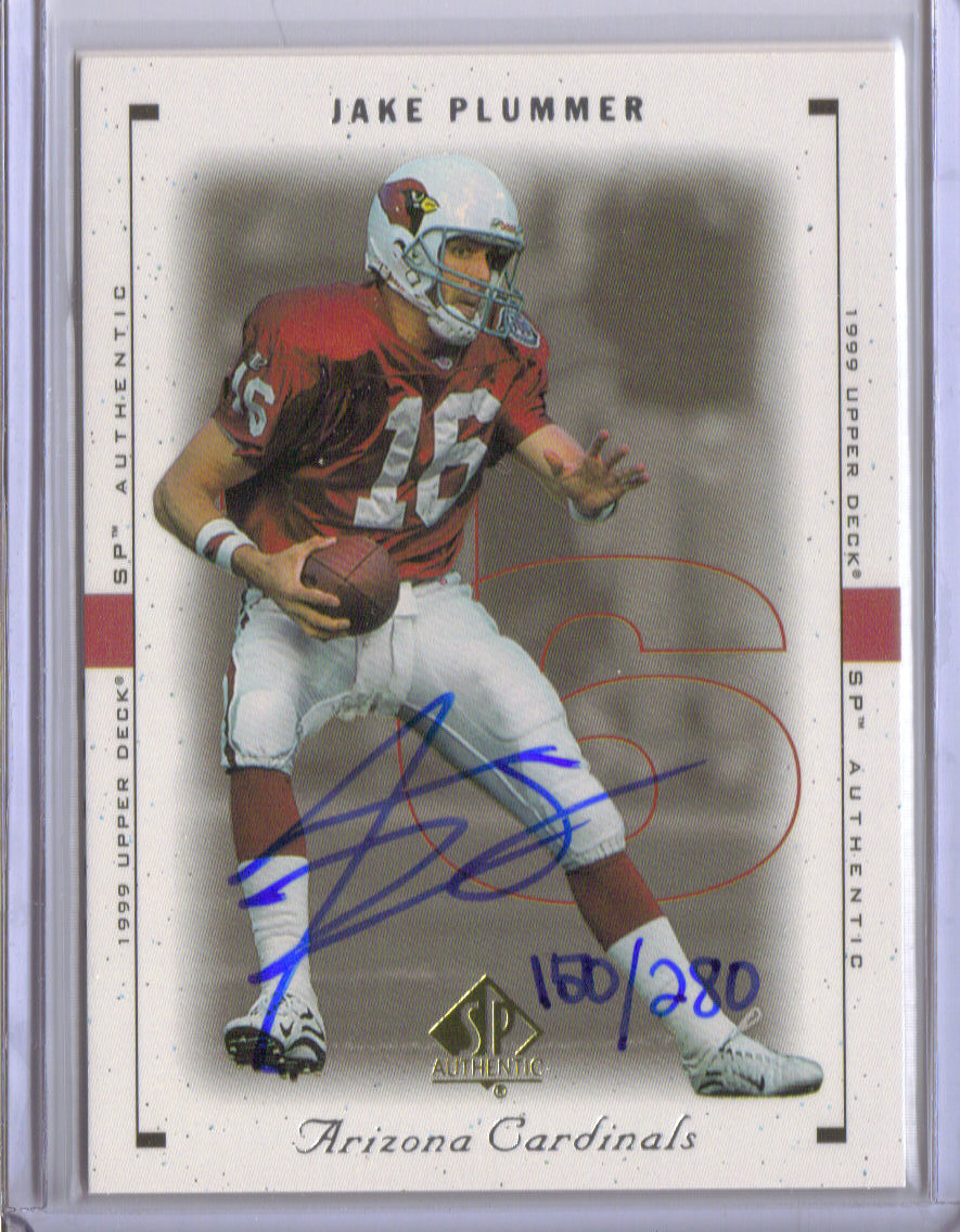 2000 SP Authentic Buy Back Autographs #91 J.Plummer 99SPA/280 front image