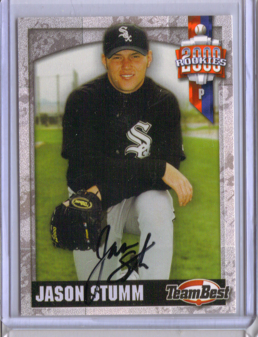 2000 Team Best Rookies Autographs #47 Jason Stumm S2 front image