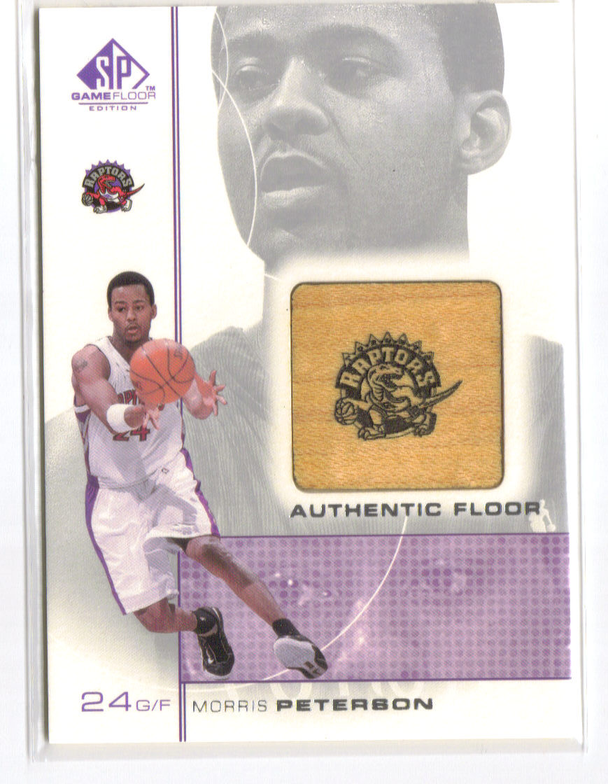 2000-01 SP Game Floor Authentic Floor #MP Morris Peterson front image