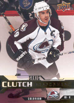 2007-08 Upper Deck Clutch Performers #CP6 Joe Sakic