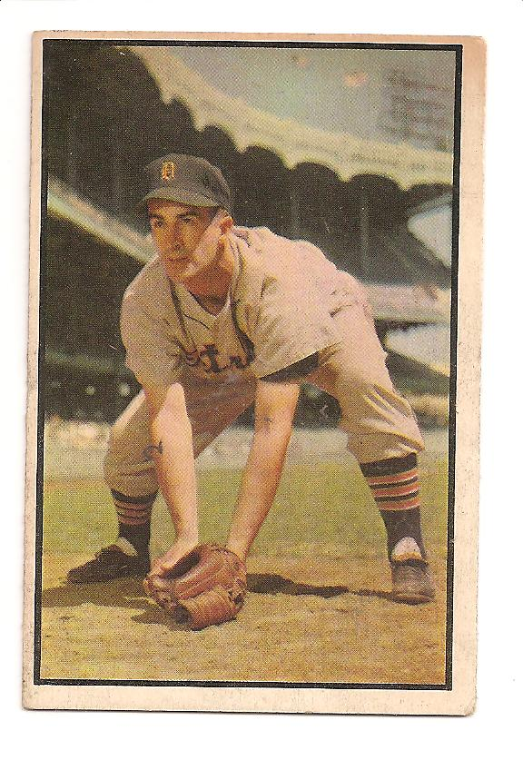 1953 Bowman Color #134 Johnny Pesky