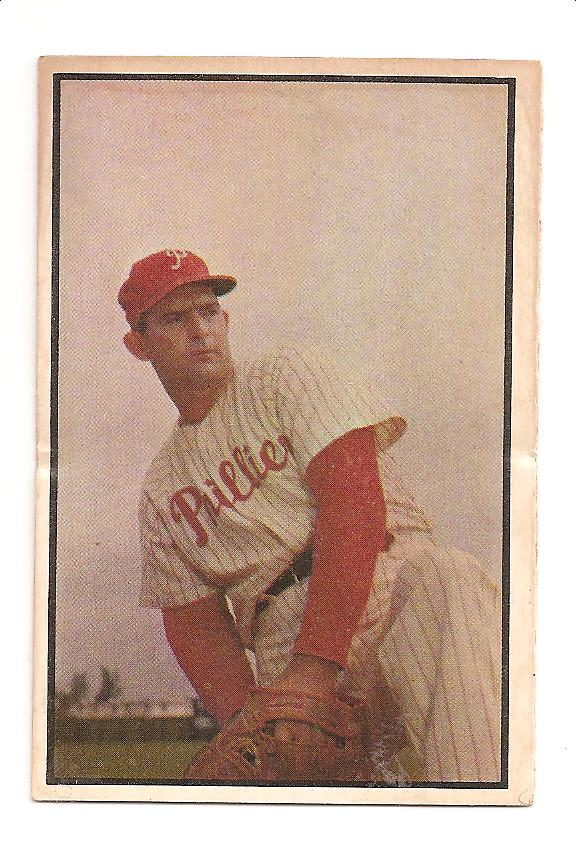 1953 Bowman Color #158 Howard Fox