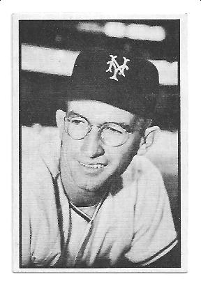 1953 Bowman Black and White #3 Bill Rigney
