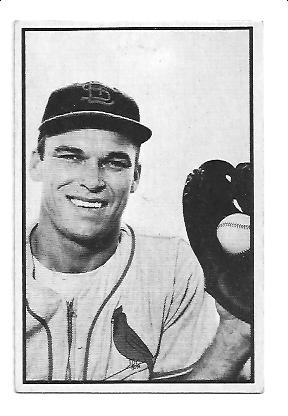 1953 Bowman Black and White #10 Dick Sisler