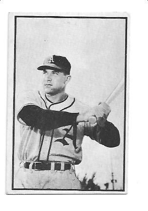 1953 Bowman Black and White #20 Eddie Robinson