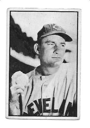 1953 Bowman Black and White #27 Bob Lemon front image