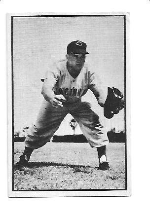 1953 Bowman Black and White #32 Rocky Bridges